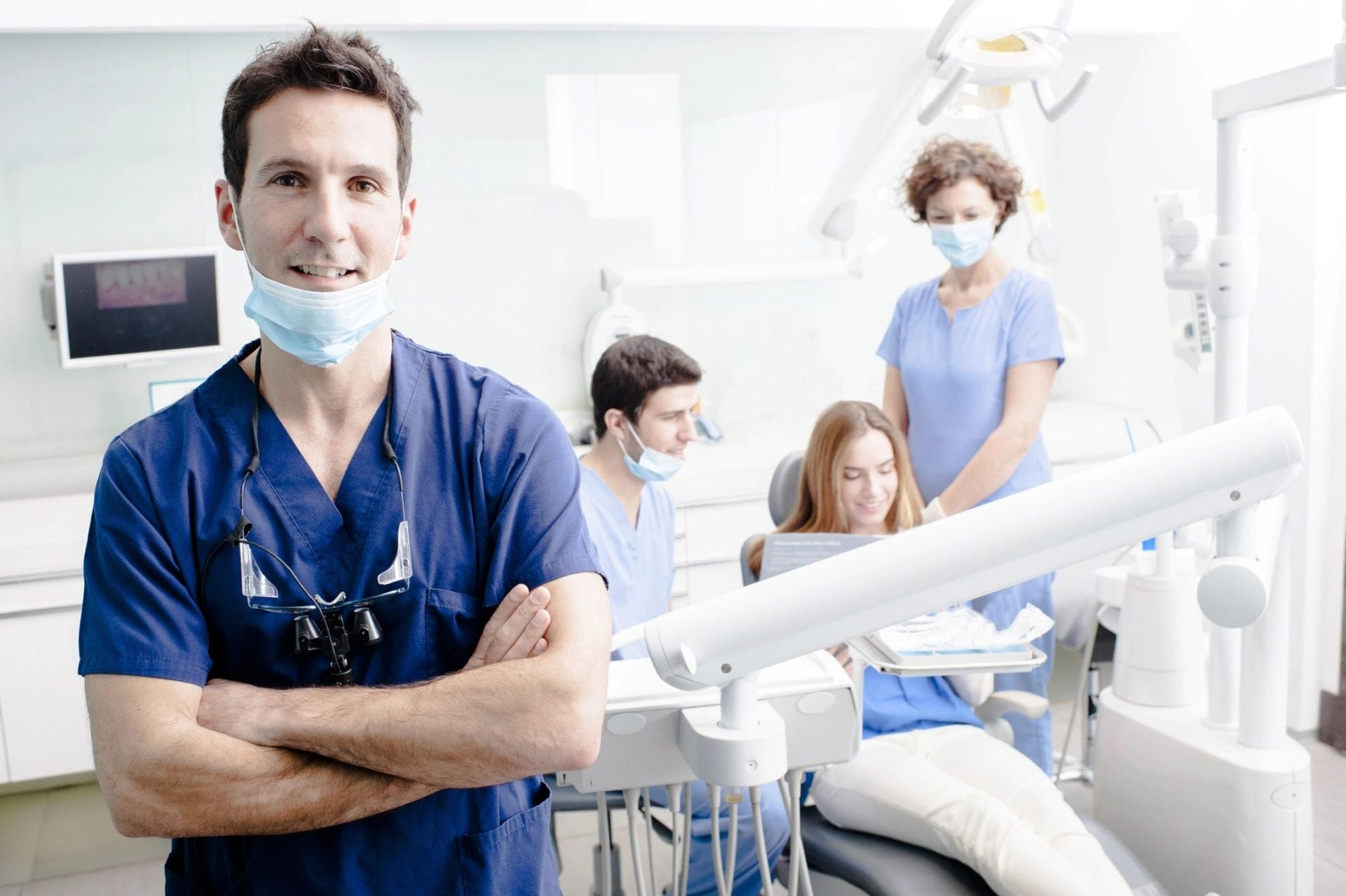 A man that needs the help of a dental billing service